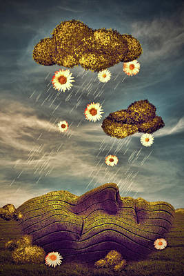 Digital Art - Just Another Summer Rainy Day by Mihaela Pater