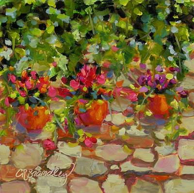 Painting - Just Another Wall In Tuscany by Chris Brandley