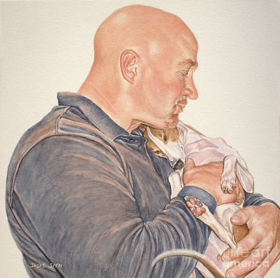 Painting - Just Armed With Love by Daune Sheri