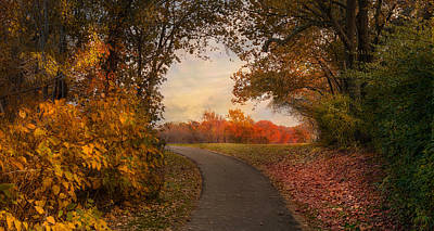 Photograph - Just Around The Bend by Robin-Lee Vieira