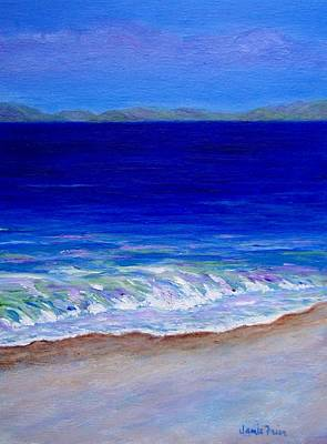 Painting - Just Beachy by Jamie Frier