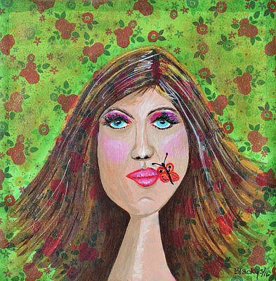 Just Been Kissed Original by Donna Blackhall