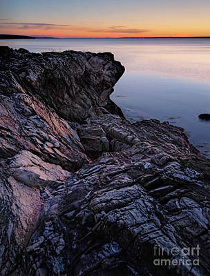 Photograph - Just Before Dawn, Camden, Maine  -43812-43814 by John Bald