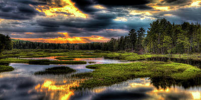 Sunset Photograph - Just Before Sunset by David Patterson