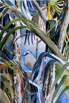 Ibis Painting - Just Being by Mindy Newman