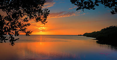 Florida Seascape Photograph - Just Beyond The Window by Marvin Spates