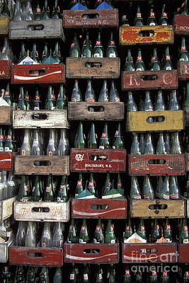 Photograph - Just Bottles by Stan and Anne Foster