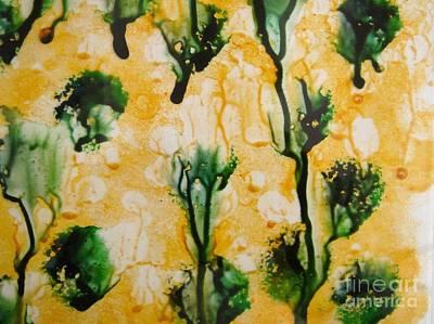 Just Broccoli Print by Angela Cartner