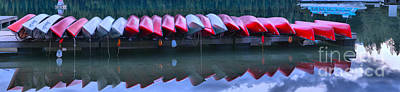 Photograph - Just Canoes by Adam Jewell
