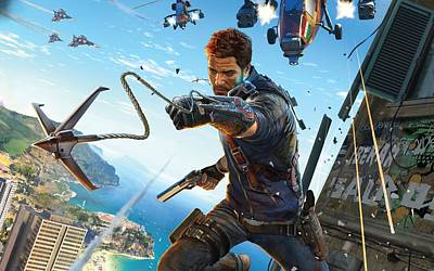 Just Cause 3 Art Print by F S