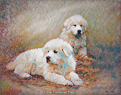 Digital Art - Just Chillin' by Bonnie Willis