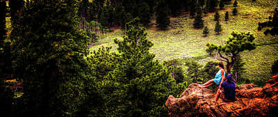 Photograph - Just Chillin By The Ponderosa Pines by Roger Passman