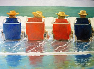 Painting - Just Chilling by Keith Wilkie