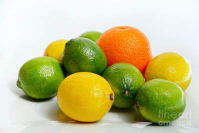 Photograph - Just Citrus By Kaye Menner by Kaye Menner