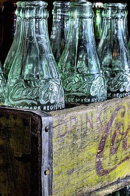 Photograph - Just Coke Bottles by JC Findley