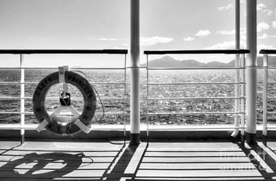 Photograph - Just Cruising 2 Bw by Mel Steinhauer