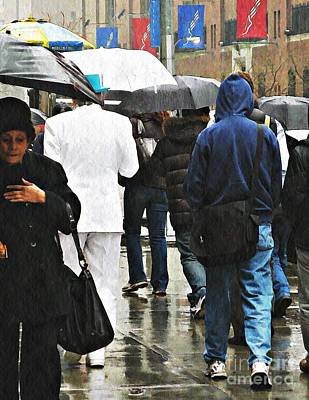 Rainy Day Photograph - Just Dandy by Sarah Loft
