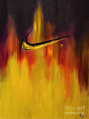 Sports Paintings - Just Do It by Herschel Fall