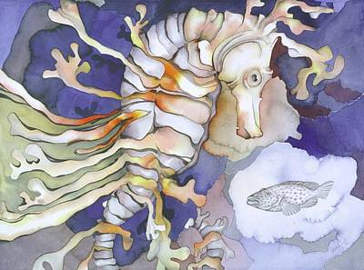 Bekman Wall Art - Painting - Just Dreaming Too by Liduine Bekman