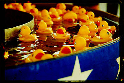 Just Ducky Print by Toni Hopper