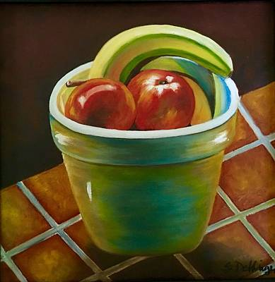 Painting - Just Fruit Reflections by Susan Dehlinger
