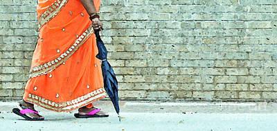 Indian Lady Photograph - Just In Case by Joe Jake Pratt