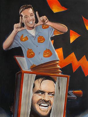 Jack Nicholson Painting - Just Jacks by Shawn Shea