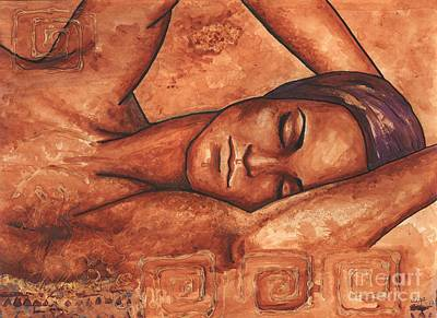 Painting - Just Lay Back And Relax And . . .  by Alga Washington