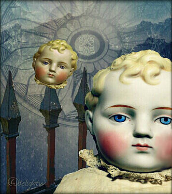 Digital Art - Just Like A Doll by Delight Worthyn