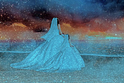 Gown Digital Art - Just Like Mom IIi by Betsy Knapp