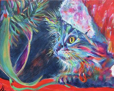 Sparkly Painting - 'just Look, Don't Touch' Mummy Said. But, Oh, It's So Sparkly by Karin McCombe Jones