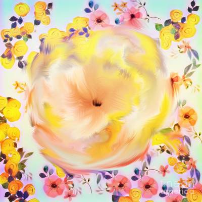 Digital Art - Just Love Flowers by Gayle Price Thomas
