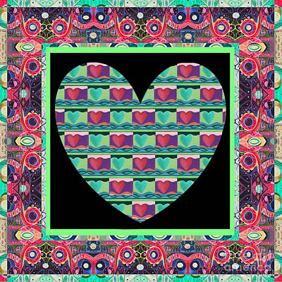 Just Love - Variation Number 1 Art Print