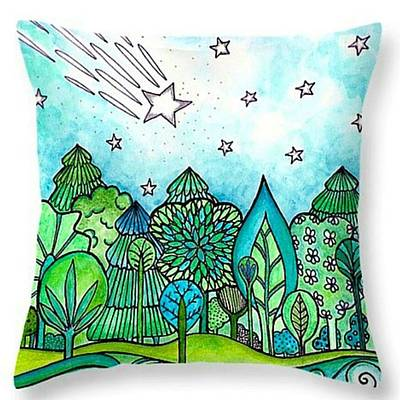 Star Photograph - Just Made A New #throwpillow With My by Robin Mead