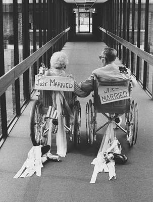 Nursing Photograph - Just Married by Jim Wright