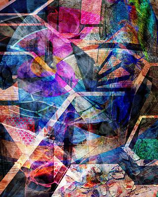 Digital Art - Just Not Wright by John Beck
