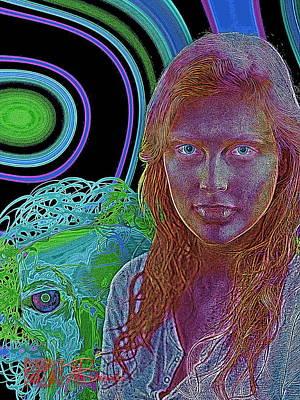 Fantastique Digital Art - Just One More Step by Mark Brooks