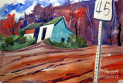 Indiana Landscapes Painting - Just Passin' Thru by Charlie Spear