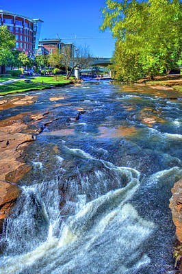 Just Passing Thru Reedy River Greenville South Carolina Art Art Print