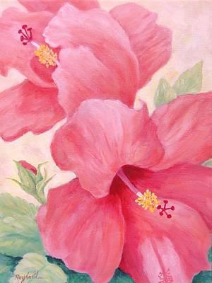 Just Peachy Original by Carol Reynolds