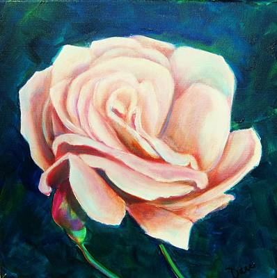Painting - Just Peachy by Dana Redfern
