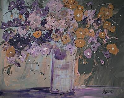 Painting - Just Peachy by Terri Einer