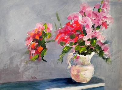 Painting - Spring Bouquet by Sally Bullers