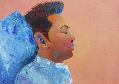 Painting - Just Relax by Kim Shuckhart Gunns