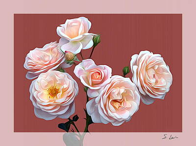 Photograph - just roses_4123 Metal Print by S Art