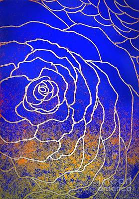 Just Rosy Art Print by Anne Sands