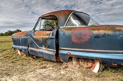 Photograph - Just Rusting Away by Tim Stanley