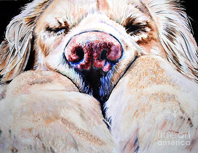 Painting - Just Snoozing by Tracy Rose Moyers