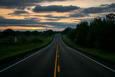 Photograph - Just Standing In The Middle Of The Road by Lon Casler Bixby