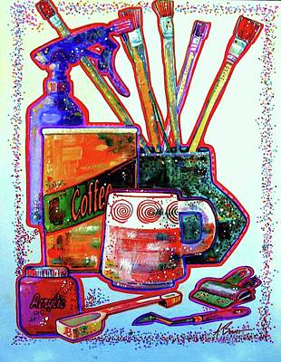 Painting - Just Stuff by Adele Bower
